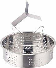 Cabilock Steamer Basket Stainless Steel Divided