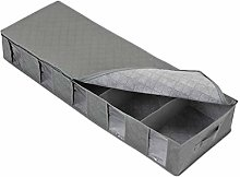 Cabilock Under Bed Storage Bins Foldable Underbed