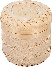 Cabilock Wicker Storage Basket Fruit Basket Picnic
