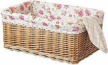 Cabilock Willow Rattan Woven Storage Basket