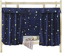 Cabin Bunk Bed Tent Curtain Cloth Dormitory