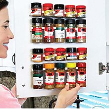 Cabinet Clips Kitchen Spice Organizer Rack