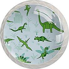 Cabinet Door Knobs Dinosaurs Multi Color Designed