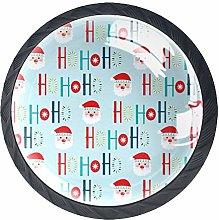 Cabinet Door Knobs Handles Pulls Cute Santa Design