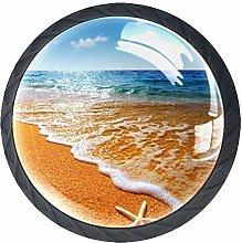Cabinet Door Knobs Handles Pulls Seascape with