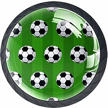 Cabinet Door Knobs Handles Pulls Small Soccer Ball