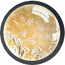Cabinet Door Knobs Handles Pulls Spring Japanese