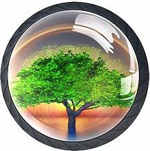 Cabinet Door Knobs Handles Pulls Tree Inside A