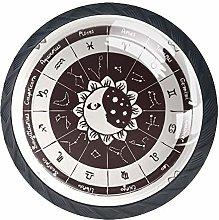 Cabinet Door Knobs Handles Pulls Zodiac with The