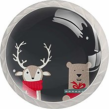 Cabinet Drawer Knobs Cute Winter Animals with