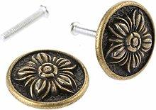 Cabinet Handle 2Pcs 31x16mm Antique Bronze