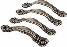 Cabinet Handle 5Pcs Antique Bronze Furniture