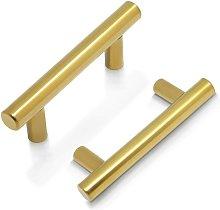 Cabinet Handle Brass - door bar T-shaped door