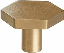 Cabinet Handle Hexagonal Brass Kitchen Cabinet