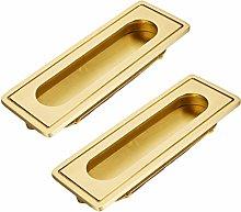 Cabinet handle Pure Copper Invisible Sliding Door