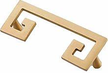 Cabinet Handle Pure Copper Wardrobe Door Brass