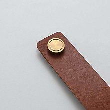 Cabinet Handle Soft Cow Leather Leather Dresser