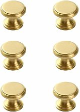 Cabinet Handles,Golden Simple Brass Handle 6