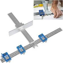 Cabinet Hardware Jig, True Position Guide Tool,