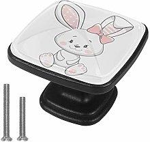 Cabinet Knob Cartoon Cute Rabbit Dresser Cupboard