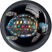 Cabinet Knobs Colorful Turtle Knobs for Dresser