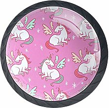 Cabinet Knobs Cute Unicorns Knobs for Dresser