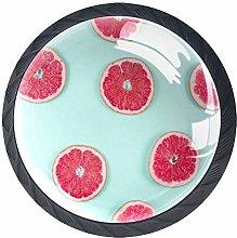 Cabinet Knobs Grapefruit Slice Drawer Pulls