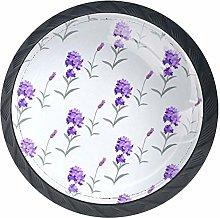 Cabinet Knobs Lavender Knobs for Dresser Drawers 4