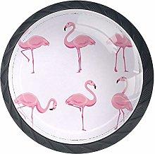 Cabinet Knobs Pink Flamingo Knobs for Dresser
