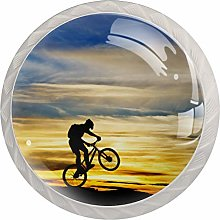 Cabinet Knobs Pulls Sunset Shadow Bike Round