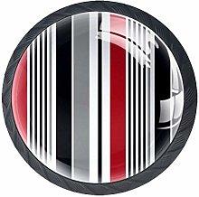 Cabinet Knobs Stripe Drawer Pulls Aesthetic