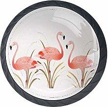 Cabinet Knobs Vintage Flamingo Knobs for Dresser