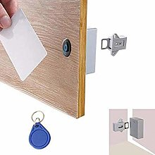 Cabinet Lock Invisible Hidden RFID Free Opening
