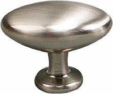 Cabinet Pulls 10Pcs Single Hole Single Oval Handle