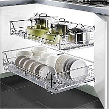 Cabinet Sliding Organizer for Kitchen Storage