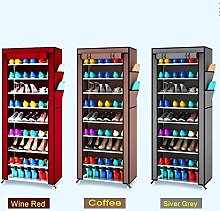 Cabinet Storage of DIY 10-Tier Shoe Rack of the