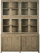 Cabinet with 10 doors and a bleached finish