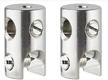 Cable accessories, Cable block, 12V Chrome