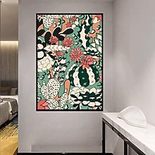 Cacti and Succulent Canvas Print Wall Art Painting