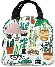 Cactus Club Portable Lunch Bag Insulated Cooler
