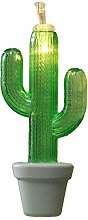 Cactus Light String, Outdoor Flower String Lights