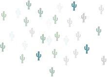 Cactus Wall Sticker Art for kids