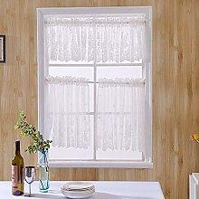 Cafe Curtain Curtain Nordic Style White Café Net