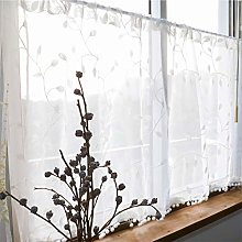 Cafe Curtain Kitchen Curtains for Windows Half
