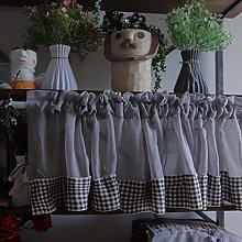 Cafe Curtain Kitchen Curtains for Windows Short