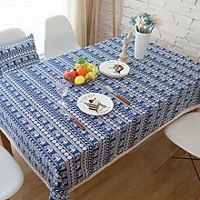 Cafe tablecloth dining table cloth bohemian cotton