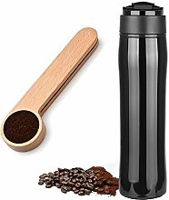 CafeBueno Portable French Press + Spoon Scoop Clip