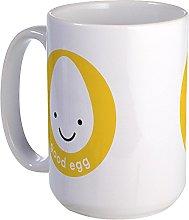 CafePress - Good Egg Large Mug - Coffee Mug, Large