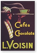 Cafes Chocolats Vintage Poster Print Coffee