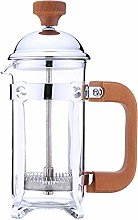 Cafetières Stainless Steel Glass Hollow Cafetiere